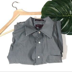 Nordstrom Smartcare Long Sleeve Button Down 16/34